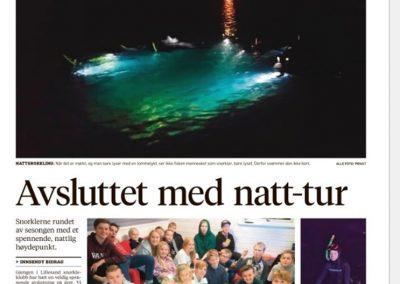 Snorkleklubben i avisa 20.11.18.